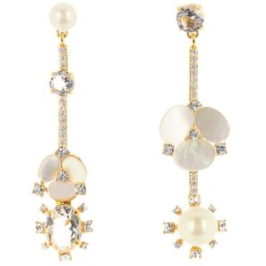 NWT: Kate Spade Linear Drop Earrings